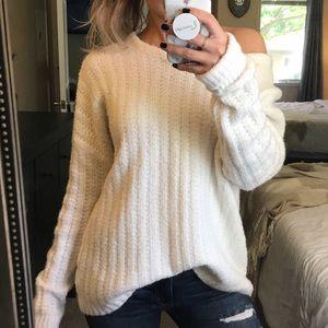 Gap Super Soft Cream Sweater